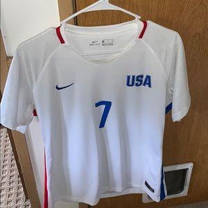 Women's USA soccer jersey. Meghan Klingenberg
